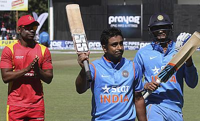 Ambati Rayudu resurrected the Indian innings with a fluent unbeaten 124-run knock.