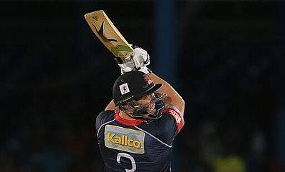 Jacques Kallis all-round performance went in vain as St Lucia Zouks edged Trinidad & Tobago Red Steel in a rain-affected game.