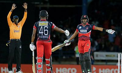 The Bravo brothers added an unbeaten 59 runs in just 16 deliveries as Trinidad & Tobago Red Steel defeated Barbados Tridents by 72 runs.