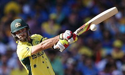 Glenn Maxwell in action for Australia