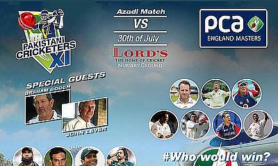 Azadi match 2015 at Lord's