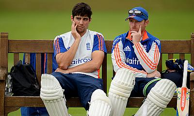 Alastair Cok and Ian Bell