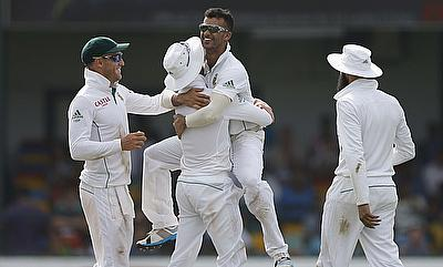 JP Duminy registered figures of 3-27 restricting Bangladesh to 246 for eight at stumps on day one of the Mirpur Test.