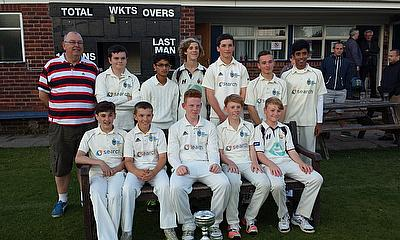 Sale Under 16s have been crowned league champions