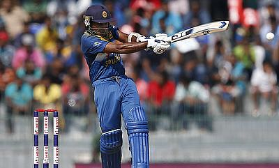 Mahela Jayawardene during the 2015 World Cup
