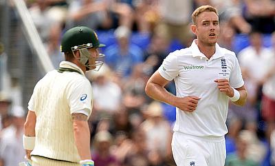 We've bowled brilliantly to Clarke - Stuart Broad