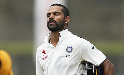 Shikhar Dhawan ruled out of Sri Lanka Tests