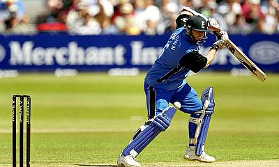 Ali Brown in action during his ODI career