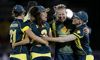 Joy unconfined for Australia Women as they beat England Women to win the Women's Ashes