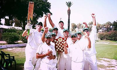 Krishna CC celebrate victory in the Malta Cricket CricHQ Summer League