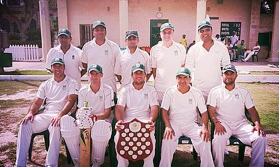 The victorious Krishna CC team