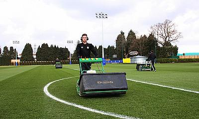 Dennis G860 mowers are keeping pitches at Chelsea's training base fit for purpose