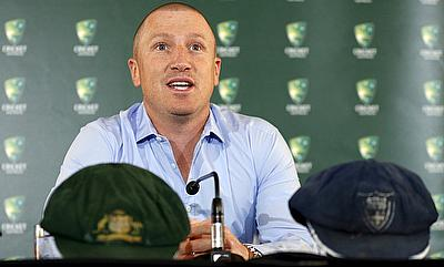 Brad Haddin announces his retirement from cricket at the Sydney Cricket Ground.