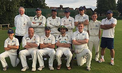 The victorious Sale 3rd XI
