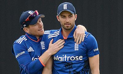 Eoin Morgan, Mark Wood handed central contracts