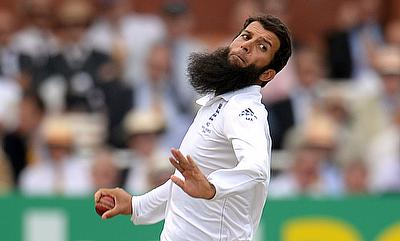 Moeen Ali gets three as Ahmed, Alam keep England at bay