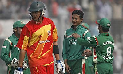 Action from Bangladesh-Zimbabwe