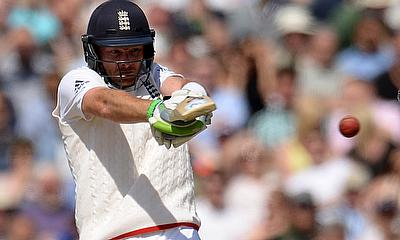 Taylor, Bell hit fifties as England rattled by Hamza's four-wicket haul
