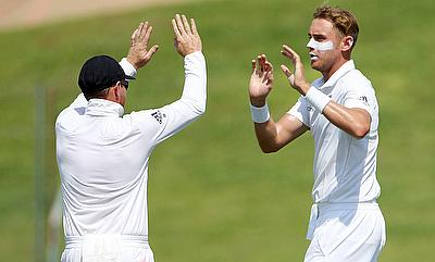 We can take credit for picking four wickets - Stuart Broad