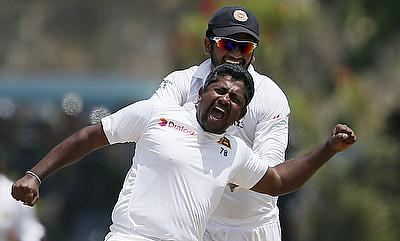 Rangana Herath registered his 23rd five-wicket haul on day three of the first Test against West Indies.