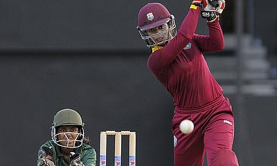 Aguilleira top scored with 67 not out for West Indies