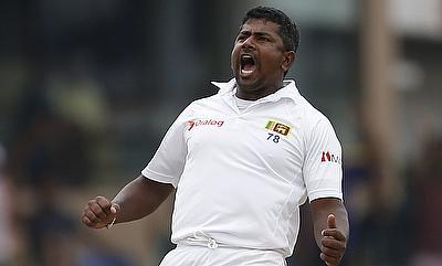 Herath hands Sri Lanka innings victory despite Blackwood's resistance