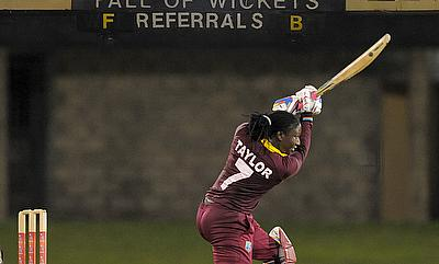 Stafanie Taylor struck 87 not out to guide her team home