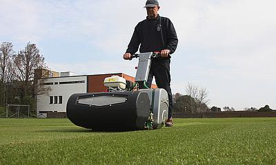 Richard Maryan, head groundsman at Eastbourne College, has just purchased a new Dennis Razor after recognising that it had every feature he was lookin