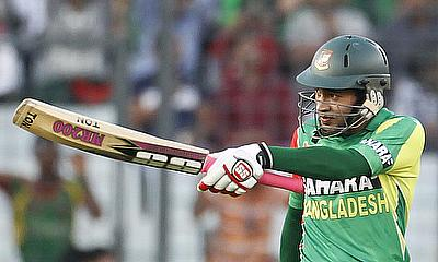 Mushfiqur Rahim produced a man of the match performance scoring a century as Bangladesh defeated Zimbabwe by 145 runs in the first ODI in Mirpur.