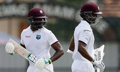Darren Bravo (left) and Shai Hope are both part of the touring party