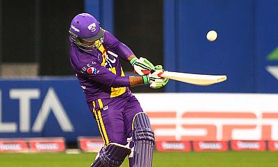 Ricky Ponting scored a 16-ball 41 during the second T20 against Sachin's Blasters in Houston.