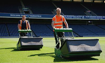 Jim Dawson, head groundsman for Scottish Rugby at the BT Murrayfield Stadium, has praised the role of the Dennis G860