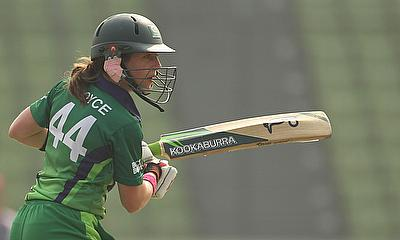 Cecelia Joyce helped Ireland beat Netherlands by eight wickets