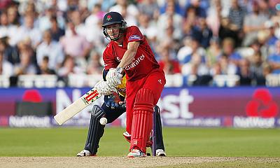 James Faulkner hits out for Lancashire