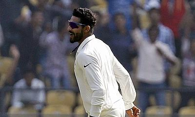 Jadeja fifer stumps South Africa after Rahane century