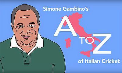 Simone Gambino's A to Z of Italian Cricket