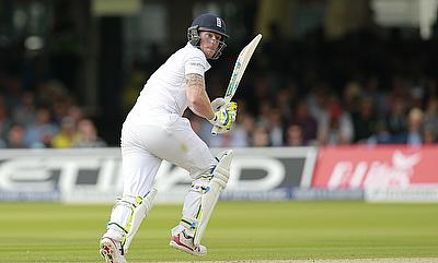 Stokes, Taylor shine as England amass 470