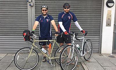 Jamie Burton, Carl Ferguson to cycle across Africa for CWB charity