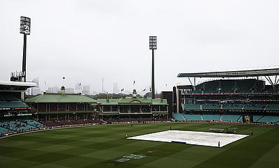Rain washes out day three of third Test in Sydney