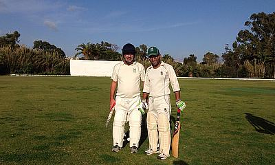 Paul Bradley and Haroon Majeed were instrumental in clinching victory for Melita CC