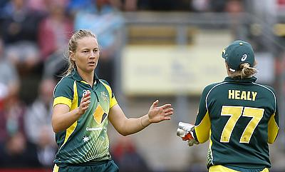 Meg Lanning and Alyssa Healy
