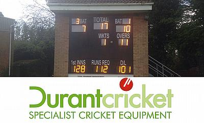 Knowle & Dorridge - just one of the many clubs Durant have provided with quality cricket equipment
