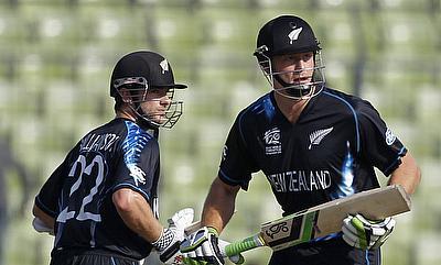 Guptill, Williamson record partnership helps New Zealand level series