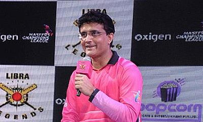 Sourav Ganguly will captain the Libra Legends