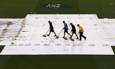 Unrelenting rain washes out second ODI in Napier