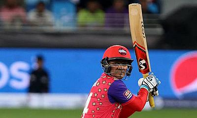 Virender Sehwag continued his onslaught scoring 134 runs off 63 deliveries against the Sagittarius Strikers.