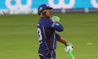 Andrew Symonds scored an unbeaten 62 for Capricorn Commanders against Libra Legends.