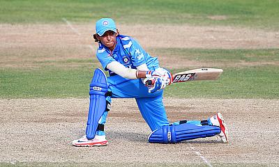 Harmanpreet Kaur played her part as India beat Australia