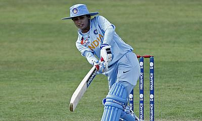 Mithali Raj scored an unbeaten 56 for India in the chase.