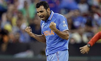 Mohammad Shami last played for India during the 2015 World Cup in March.